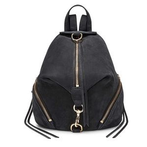 NWT Rebecca Minkoff Julian Backpack Black Medium